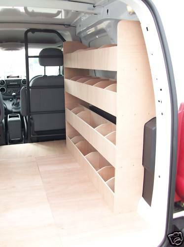 Peugeot Partner Van Racking Van Shelving Storage