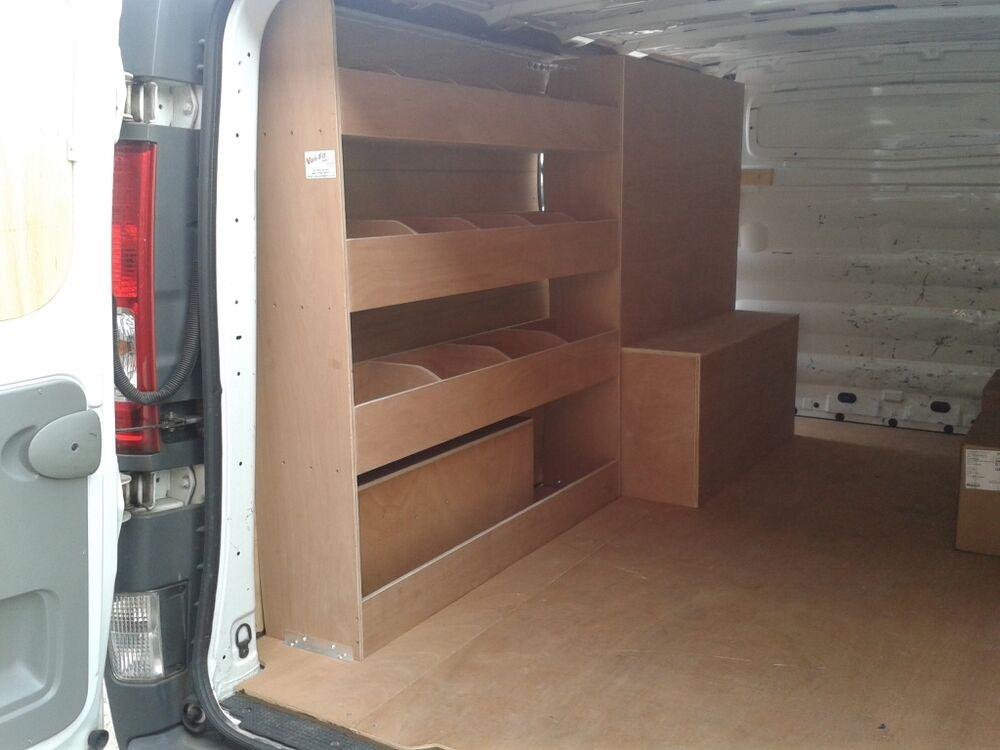 Vauxhall Vivaro Lwb Racking Sytem Plywood Shelving Storage