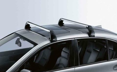 BMW Genuine Aluminium Lockable Roof Bars Rack Support E81 ...