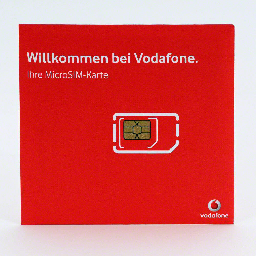 vodafone d2 callya micro sim prepaid sim karte smartphone fun aktiviert ebay. Black Bedroom Furniture Sets. Home Design Ideas