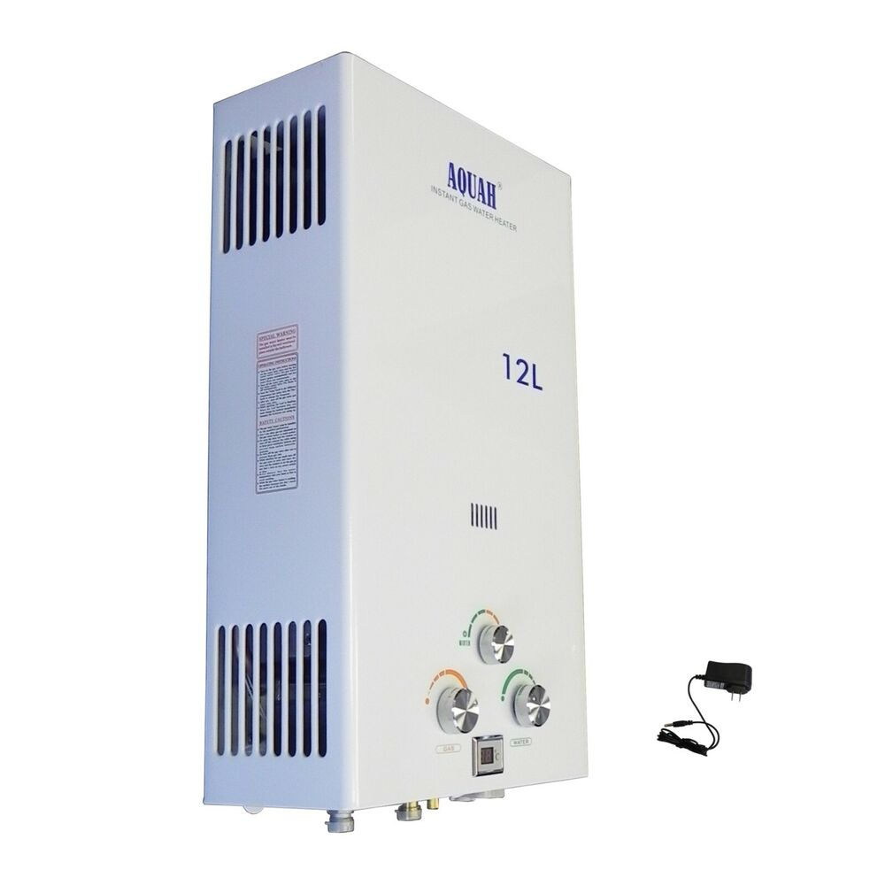 Aquah 12l 3 2 Gpm Natural Gas Ng Tankless Water Heater