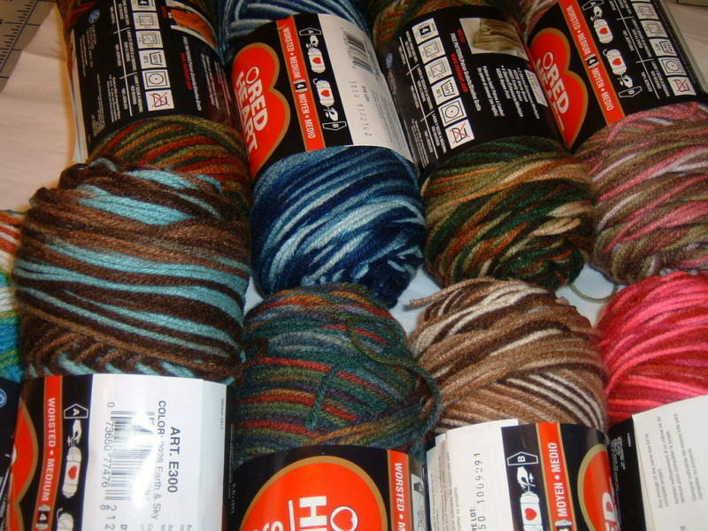 Red Heart Yarn Colors