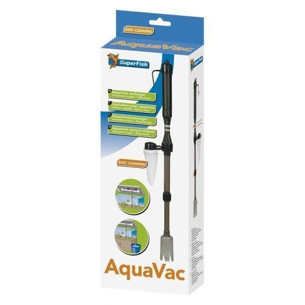 Superfish aquavac aquarium super fish tank cleaner vacuum for Fish tank vacuum