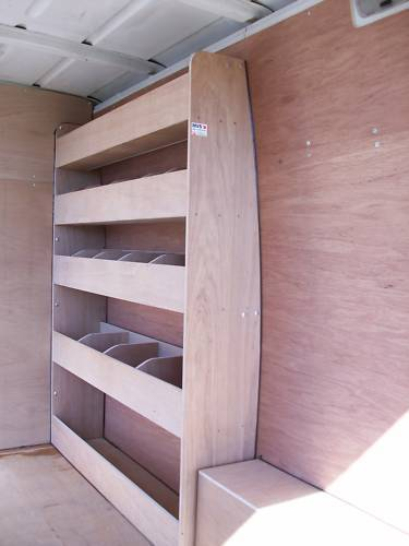 Mercedes Sprinter Van Racking Ply Shelving Storage