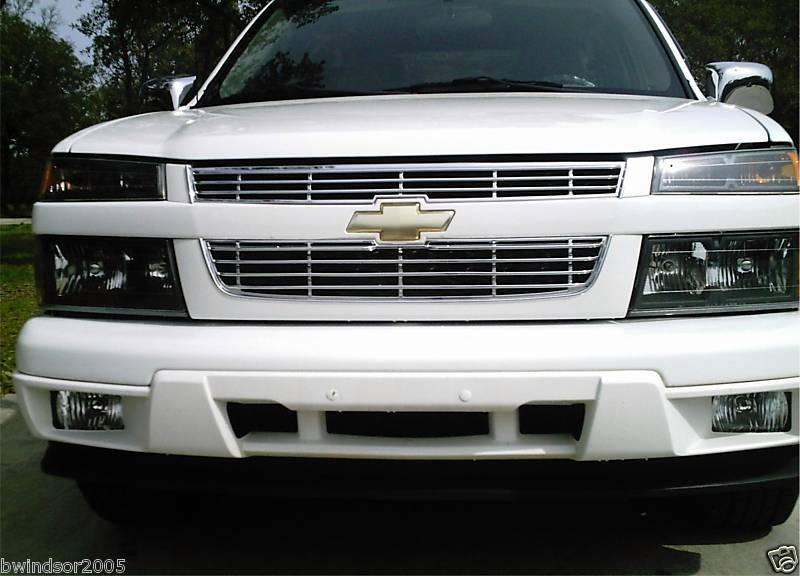 2011 2012 chevy colorado grille grill chrome insert 04 05 06 07 08 09 2010 ebay. Black Bedroom Furniture Sets. Home Design Ideas