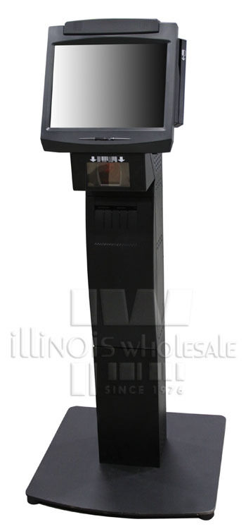 Ncr 7402 2151 Complete Kiosk W Intg Scanner Fixed Angle