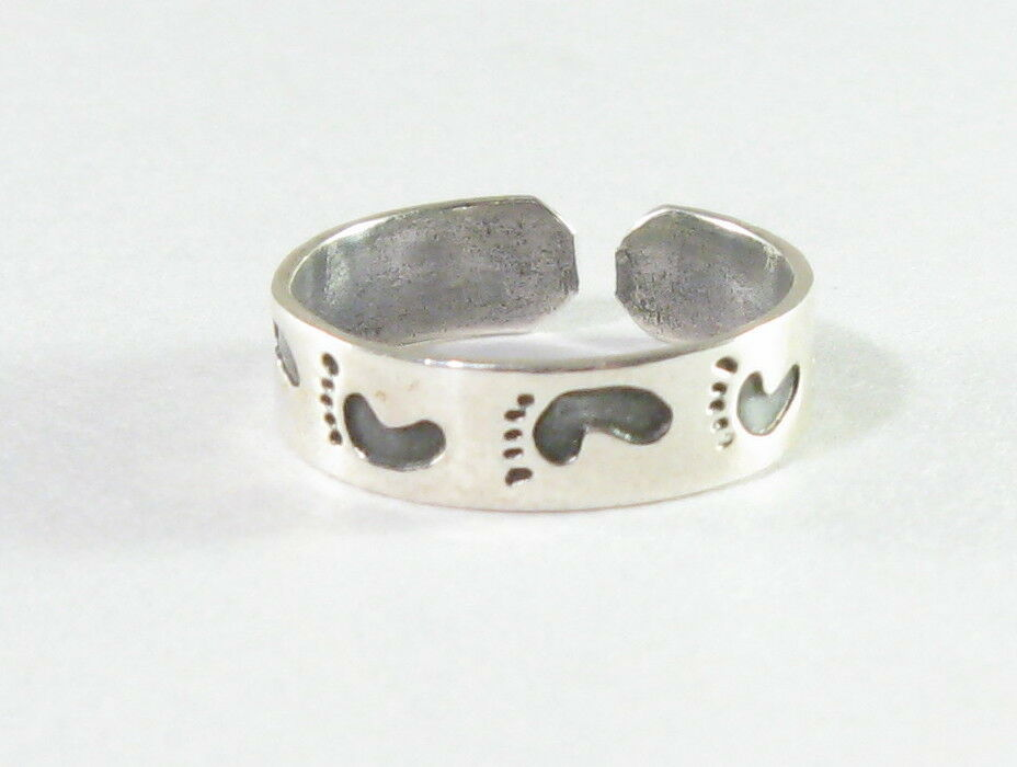 Solid Silver Toe Rings Uk