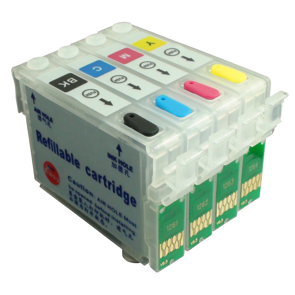 NON-OEM Refillable Ink Cartridge for EPSON SX230 SX235W ...