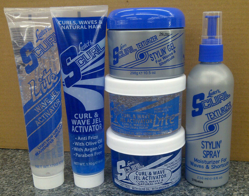 Hair Style Products: S-Curl Hair Texturizer Styling Products