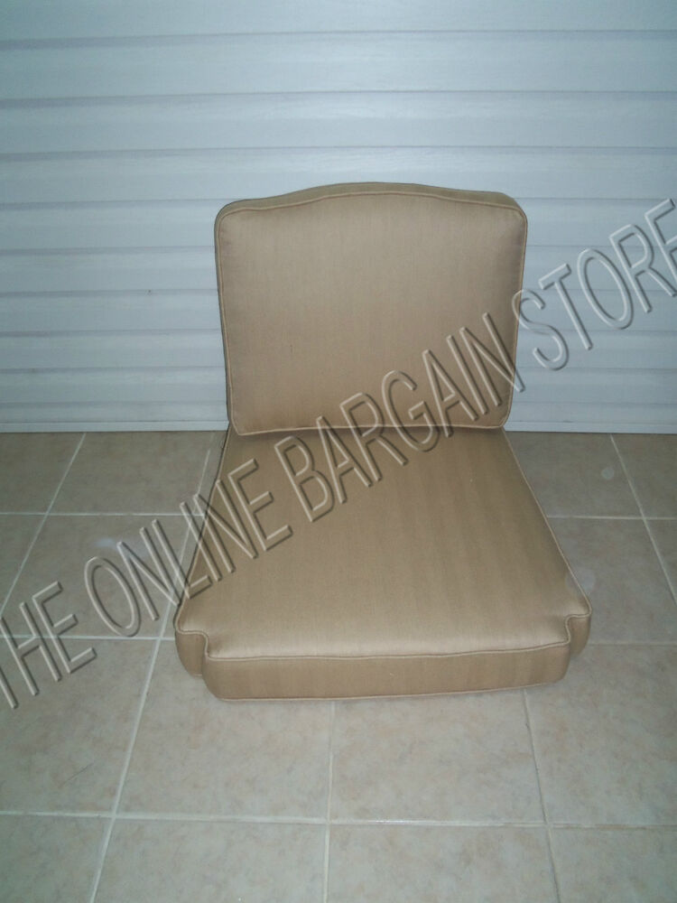 Frontgate Trax Wren Glen Isle Outdoor Patio Chair Replacement Cushions 28x28