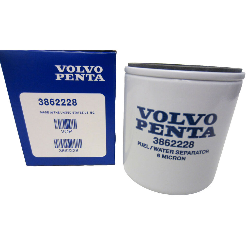 Volvo Penta Stern Drive New Oem Fuel Filter 3862228 Sx 3