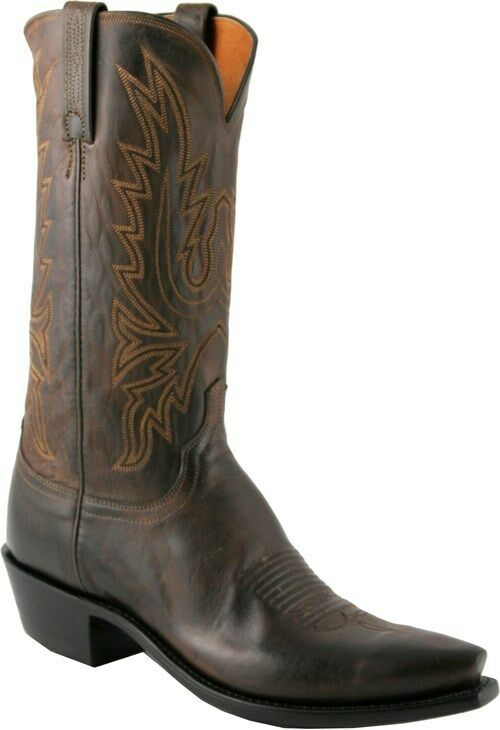 Men S 1883 By Lucchese Western Boots N1556 5 4 Chocolate