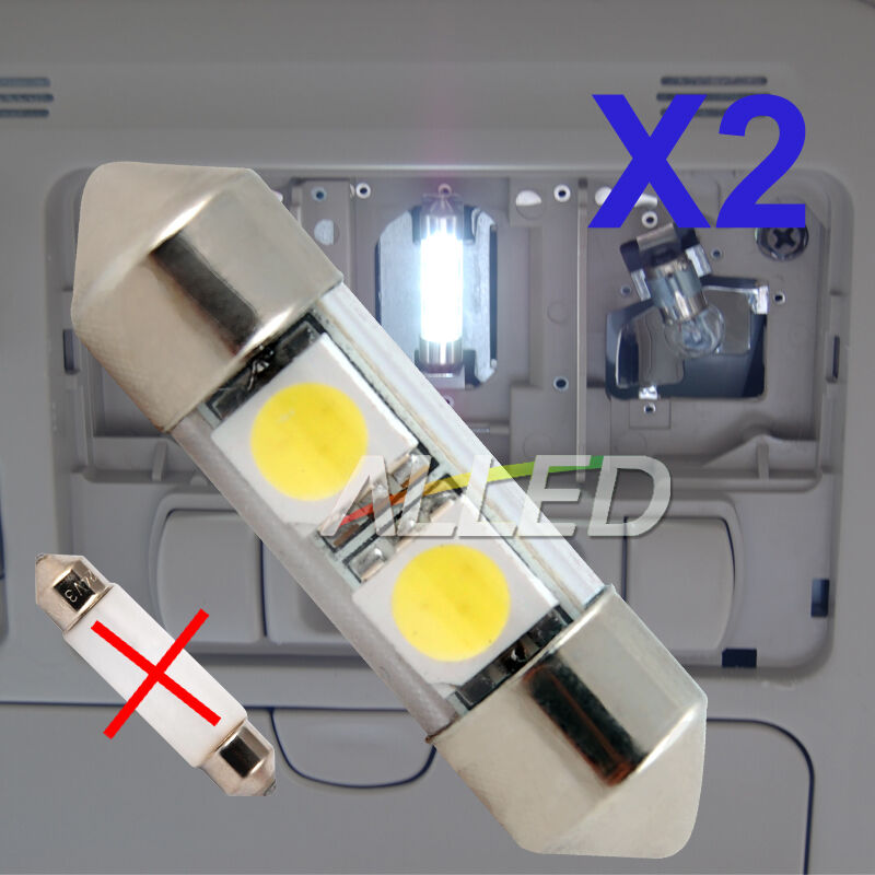 12v smd led festoon globe cabin dome light cool white interior car boat rv truck ebay. Black Bedroom Furniture Sets. Home Design Ideas
