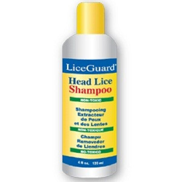liceguard head lice shampoo set with nit comb