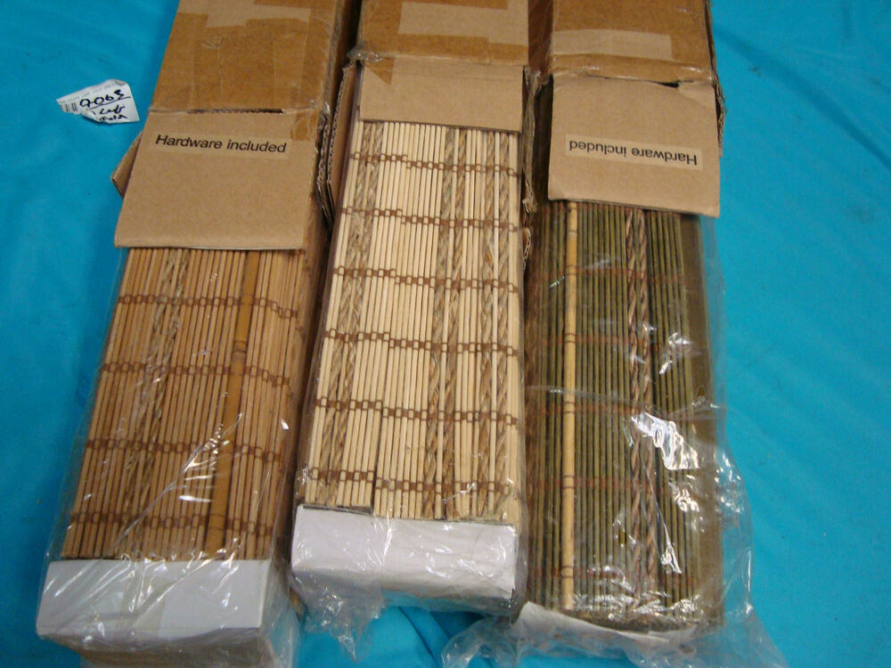 Jcpenney Woven Wood Matchstick Amp Twine Roman Shade Blind