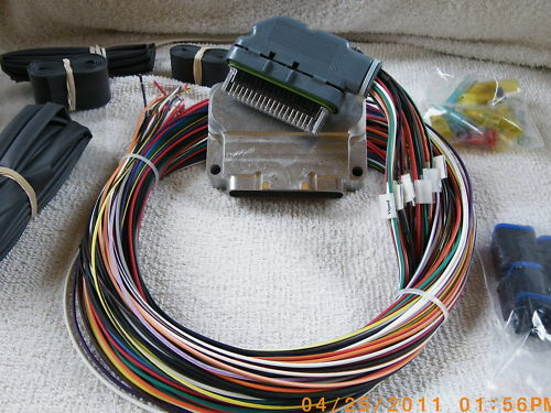 65 mustang wire harness kit custom motorcycle wire harness kit custom wiring harness thunderheart micro controller kit | ebay