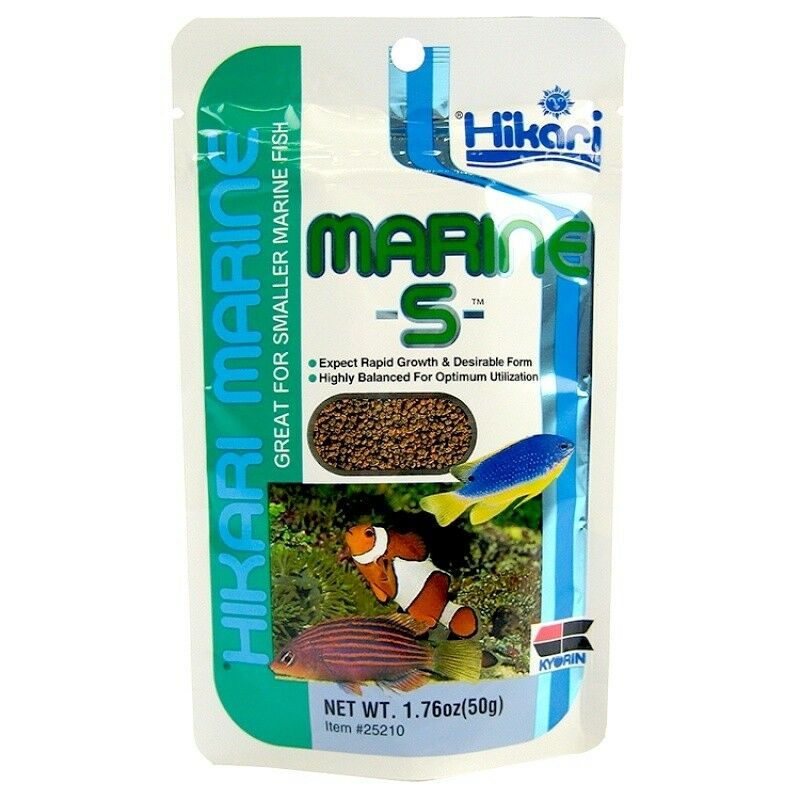Hikari marine s 50g pellet fish food great for smaller for Hikari fish food