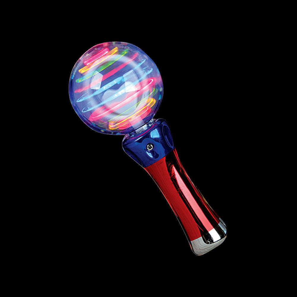 New Spin Toys : New flashing light up rave party toy spinning led wand ebay