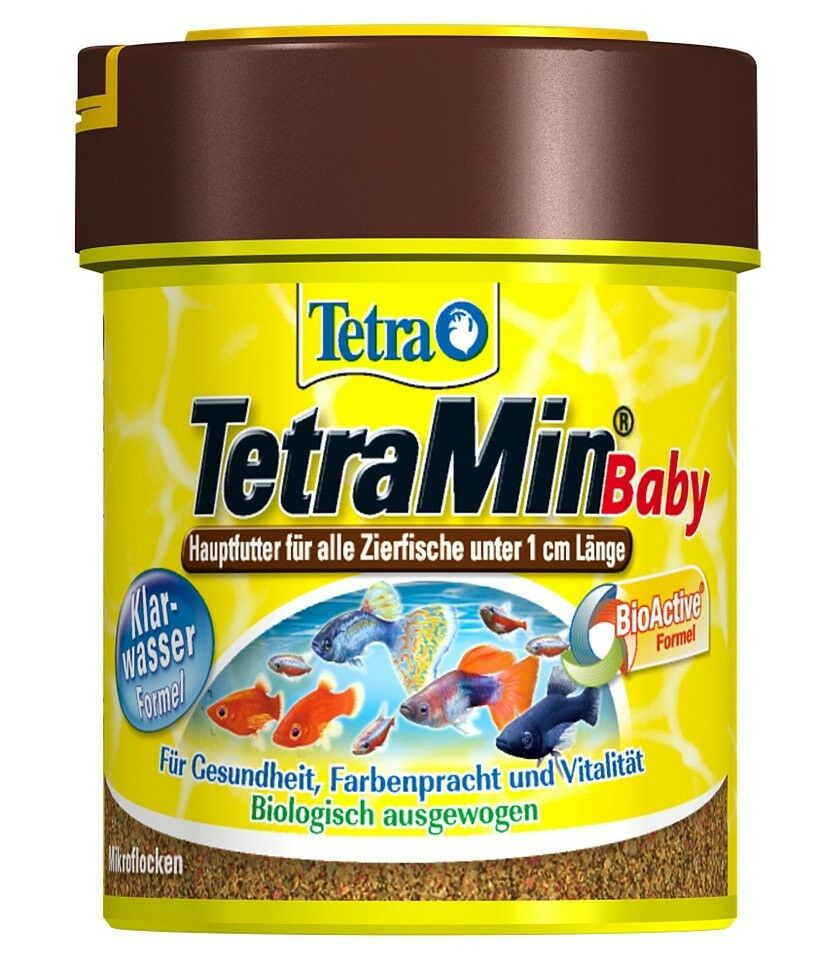 Tetra tetramin baby fish food 35g aquarium fish baby fry for Baby koi food