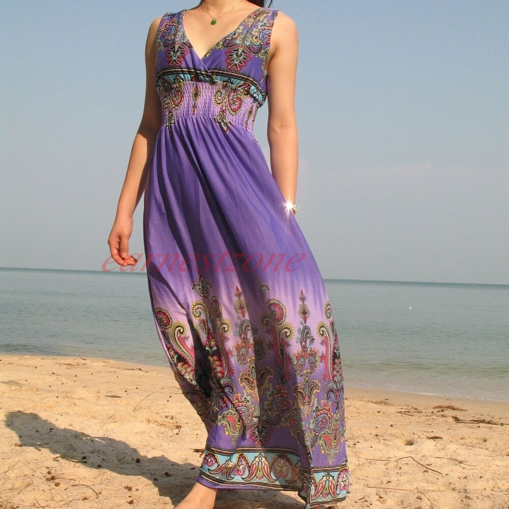 New formal evening bridesmaid plus size maxi long dress s for Purple maxi dresses for weddings
