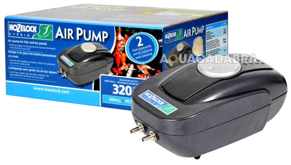 Hozelock Air Pump A320 Airline Airstones Fish Pond Weatherproof Outdoor Ebay