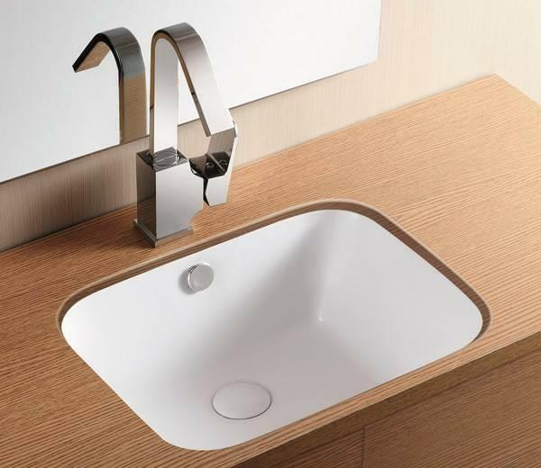41cm x 32cm undercounter inset rectangular sink bathroom basin white ceramic ebay