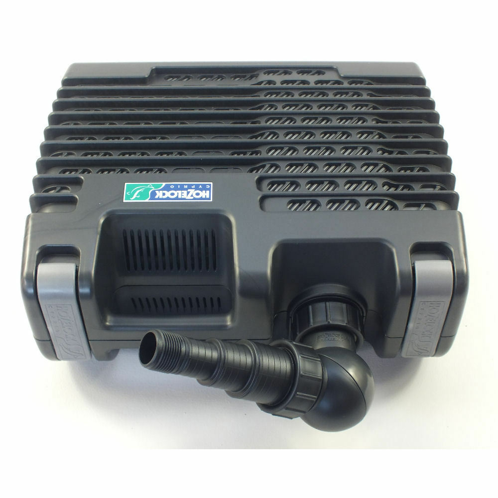 hozelock aquaforce pond pump secondary intake inlet pre