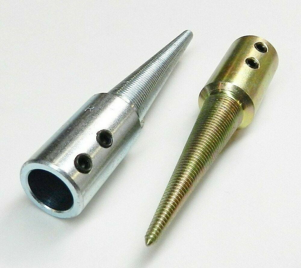 Tapered Spindles Set Of 2 R Amp L With 5 8 Quot Id Hole For