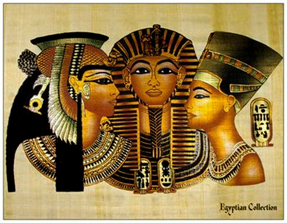 Egyptian Collection Postcard. Cleopatra - King Tut ...