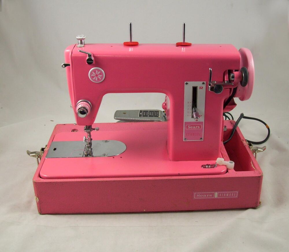 HOT PINK Kenmore 159.110 3/4 size Straight Stitch Sewing ...