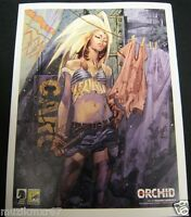SDCC Comic Con 2012 EXCLUSIVE Dark Horse Comics ORCHID art print Massimo Carneva