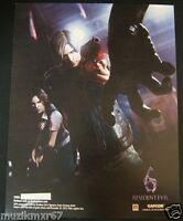 SDCC Comic Con 2012 EXCLUSIVE CAPCOM Resident Evil 6 art print
