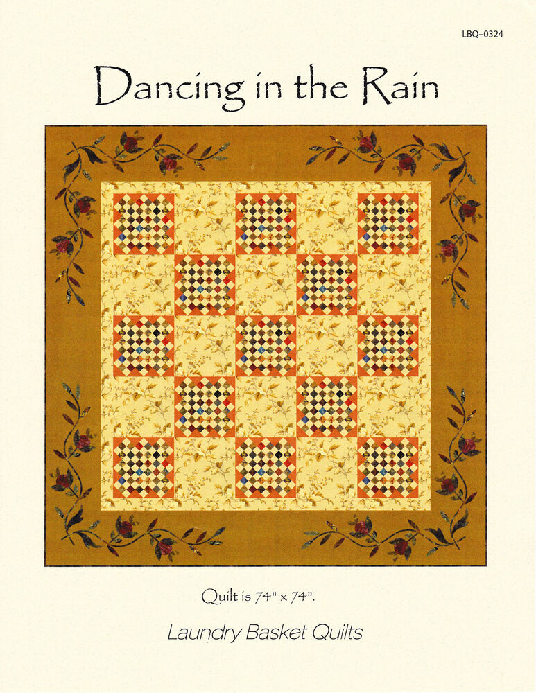 Dancing In The Rain By Edyta Sitar For Laundry Basket