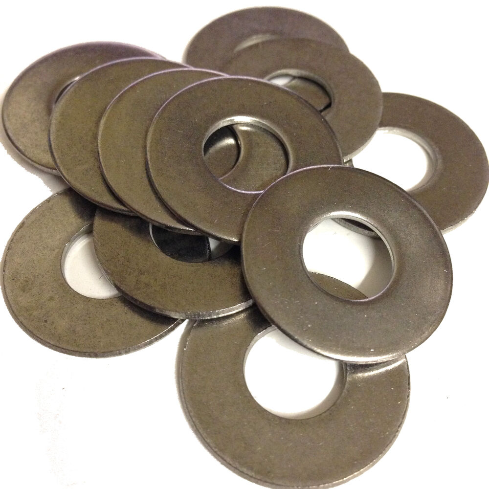 40mm O/D, M6, M8, M10, M12 - A2 STAINLESS STEEL FLAT PENNY ...