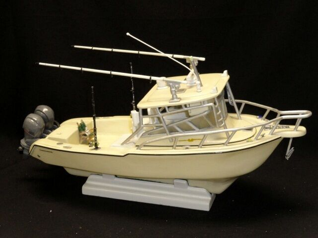 Amazing detailed handmade scale maquette cruiser fishing for Ebay fishing boats