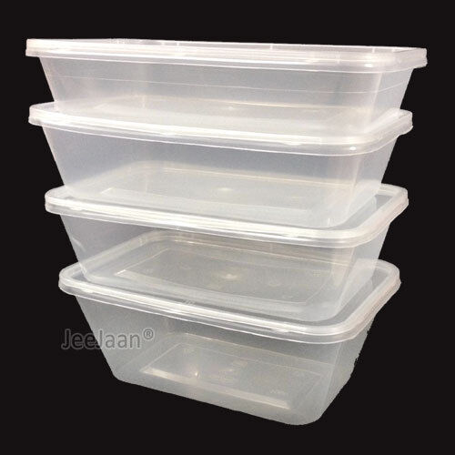 Microwave Safe Plastic Food Containers And Lids Ebay