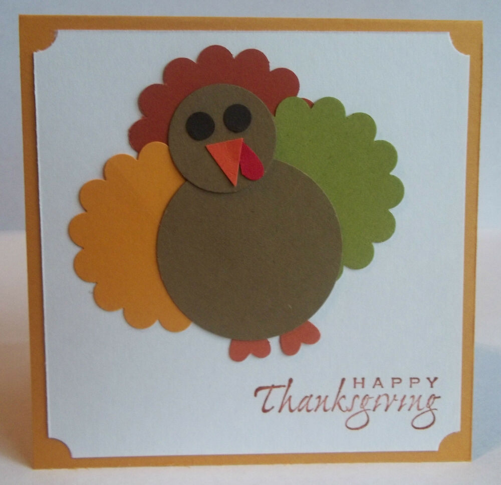 home made thanksgiving cards