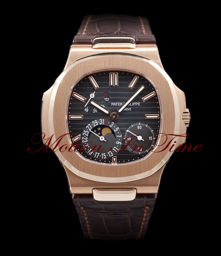 patek philippe 5712r nautilus rose gold power reserve moonphase unworn ebay On patek philippe rose gold
