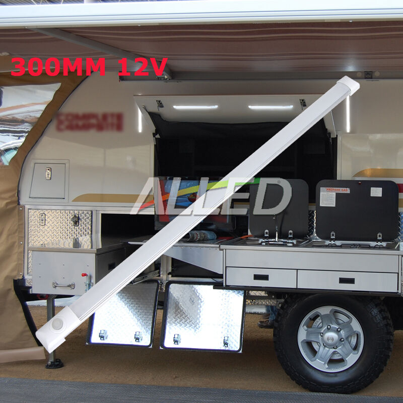 12v Led Under Cabinet Counter Strip Light Rv Camper: 12V 300MM LED Strip Light Caravan Camp Trailer Marine