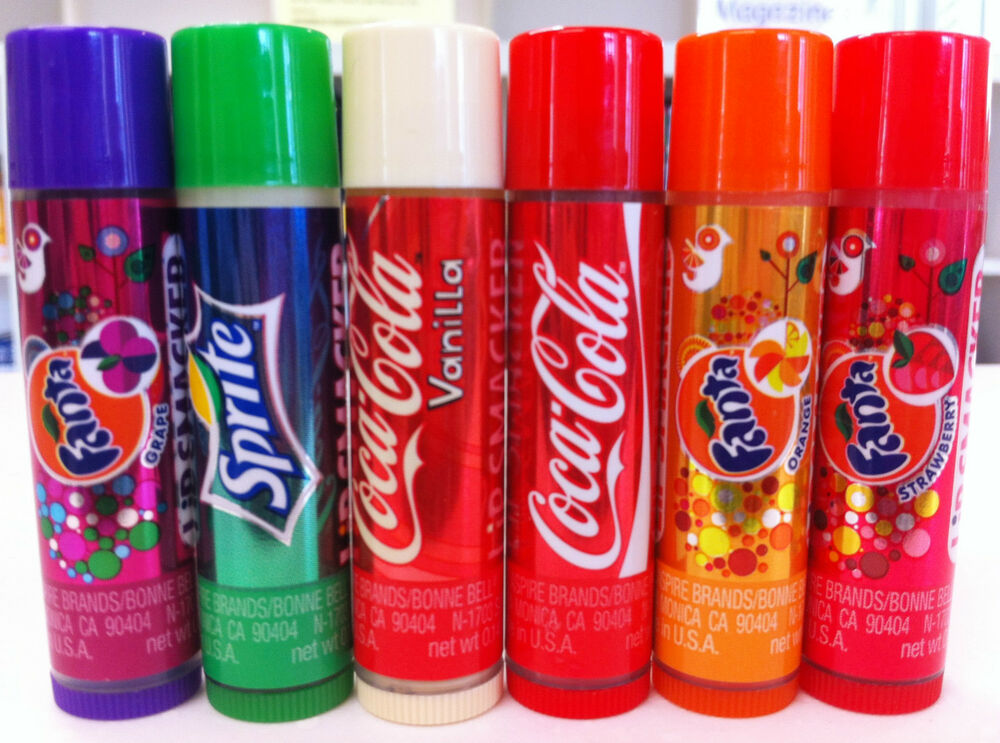 lip smacker lip balm gloss soda coca cola fanta sprite x 1. Black Bedroom Furniture Sets. Home Design Ideas