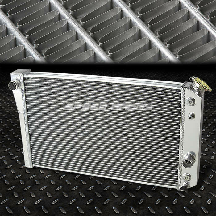 3-ROW/CORE FULL ALUMINUM RACING RADIATOR 82-02 CHEVROLET