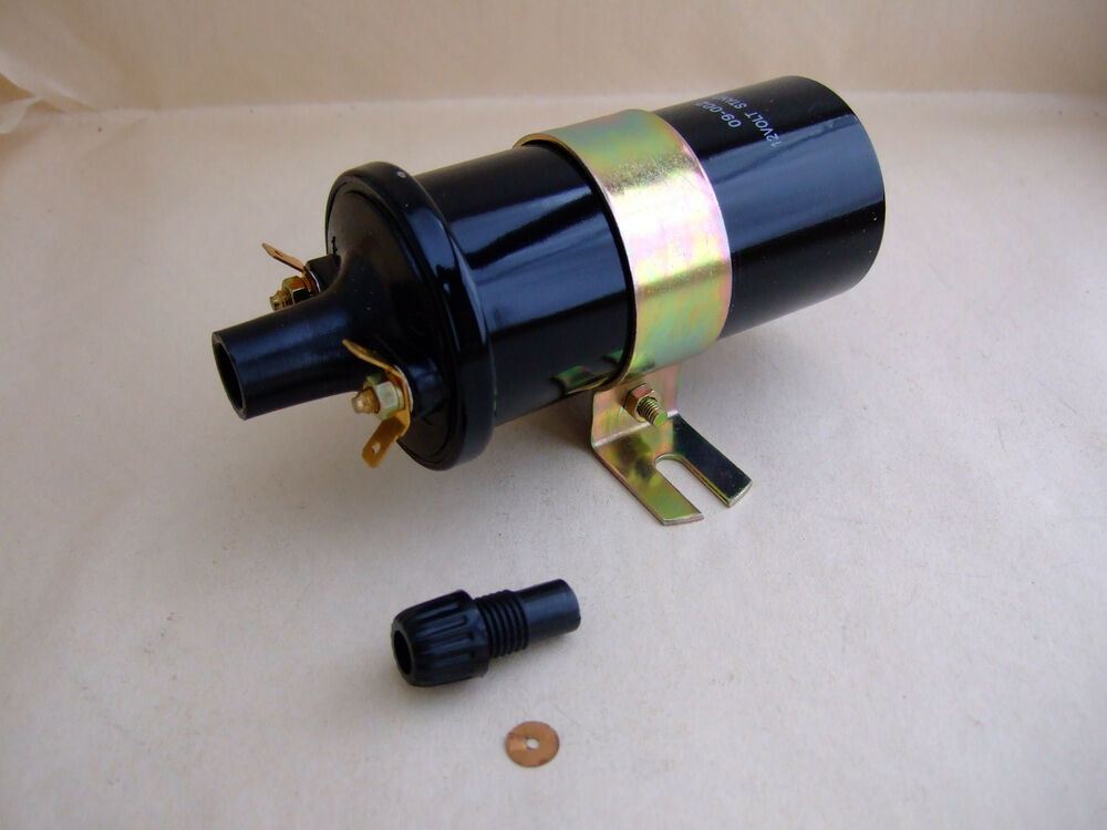 New 12 Volt Screw In Coil For Vintage And Classic Cars