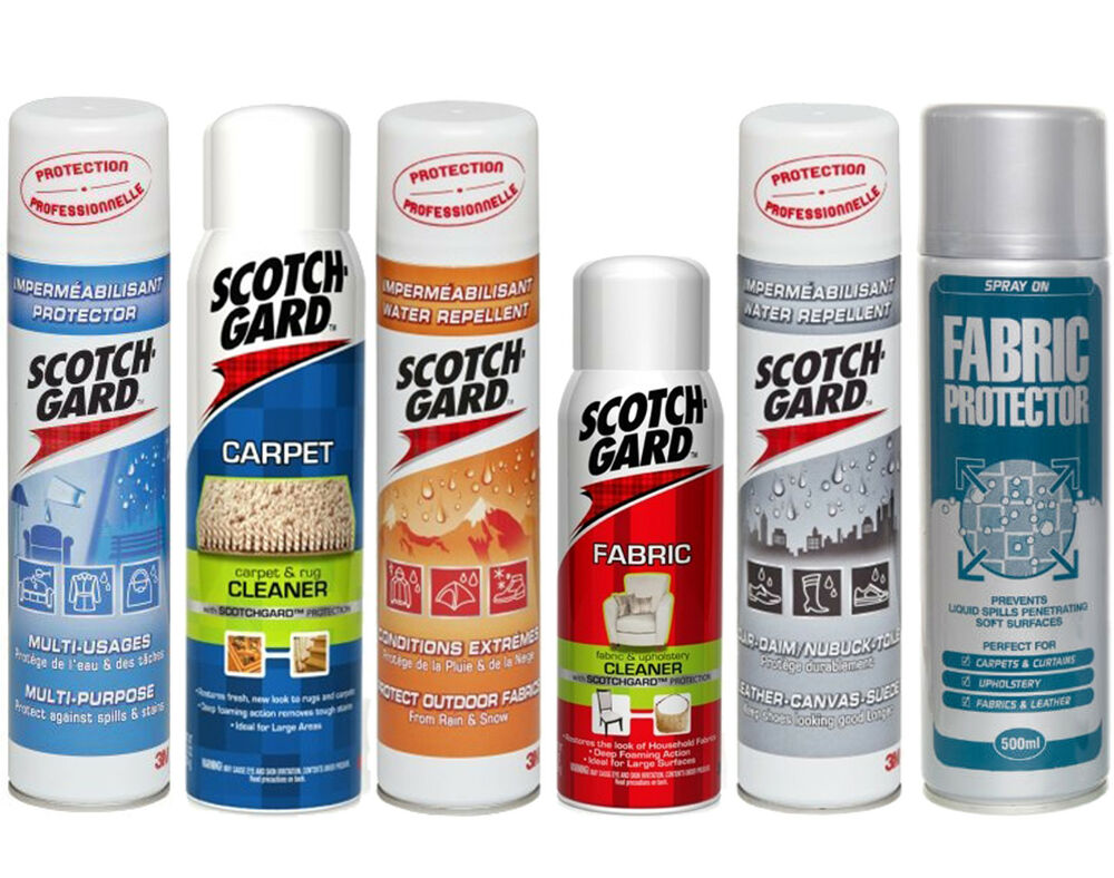 Fabric Carpet Settee Chair Furniture Protector Cleaner Spray Aerosol Can 3m
