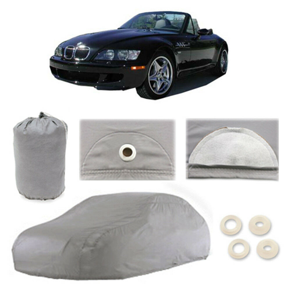 Bmw Z3 Car Cover: 1996-2002 BMW Z3 4 Layer Car Cover Fitted Water Proof Snow