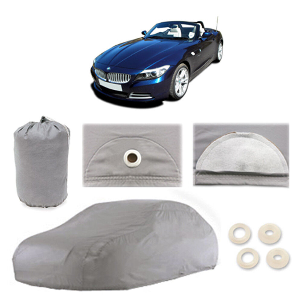 Bmw Z4 Car Cover: BMW Z4 4 Layer Car Cover Fitted Water Proof In Out Door