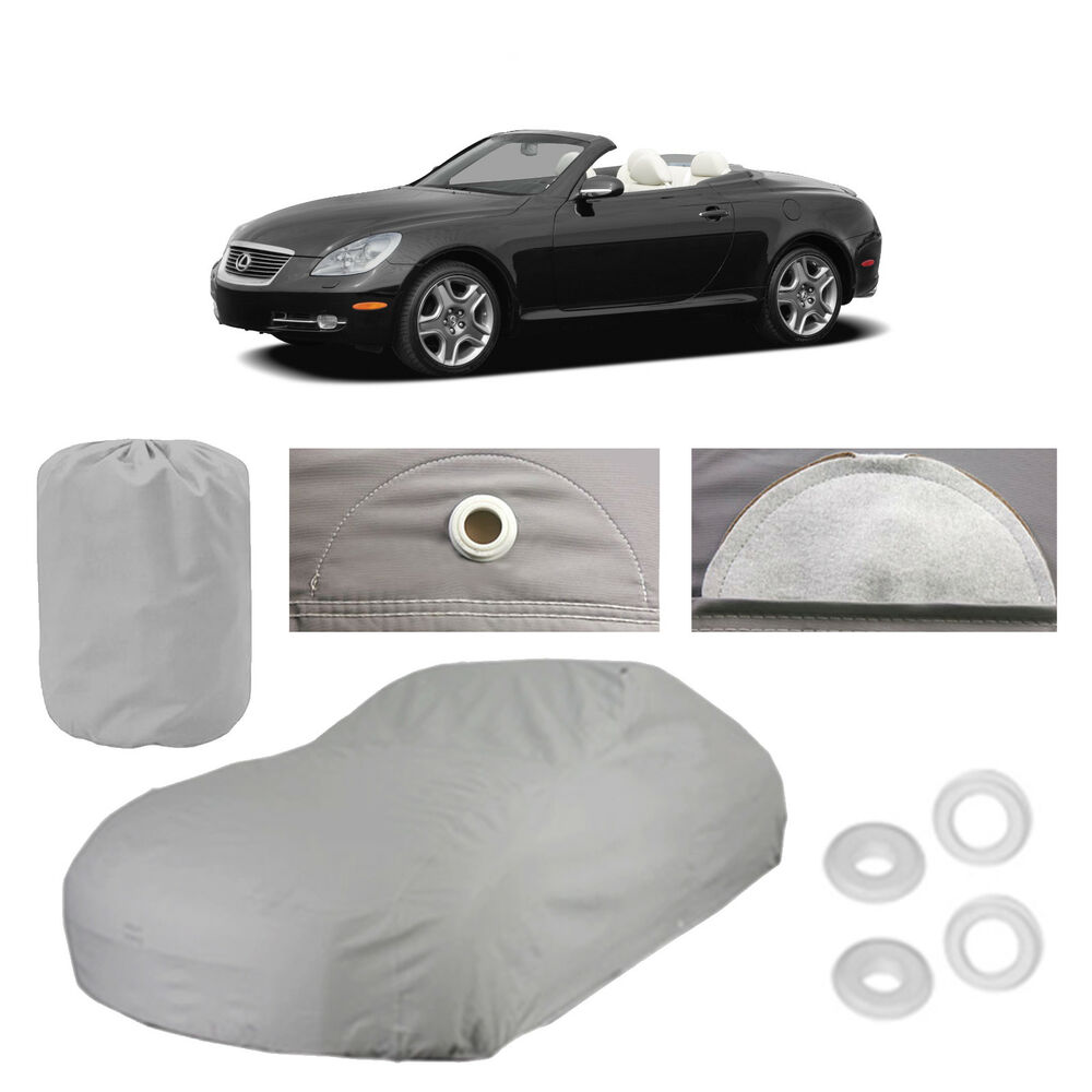lexus sc430 6 layer car cover fitted in out door water. Black Bedroom Furniture Sets. Home Design Ideas