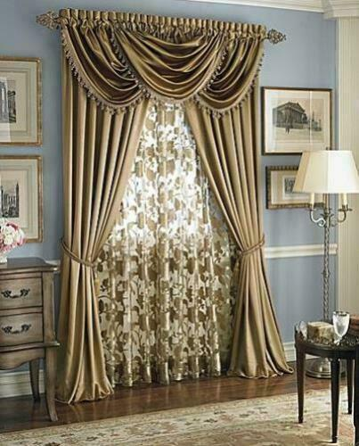 Goodgram Hyatt Curtains Valances Assorted Colors Styles New Colors Ebay