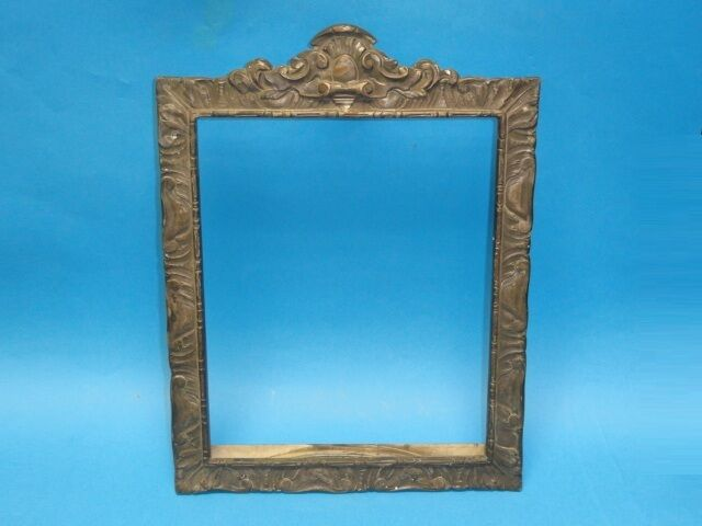 antique brass ornate picture frame x 9 5 ebay. Black Bedroom Furniture Sets. Home Design Ideas