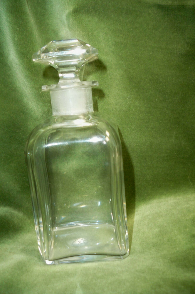 Vintage Baccarat Signed Numbered France Perfume Bottle W