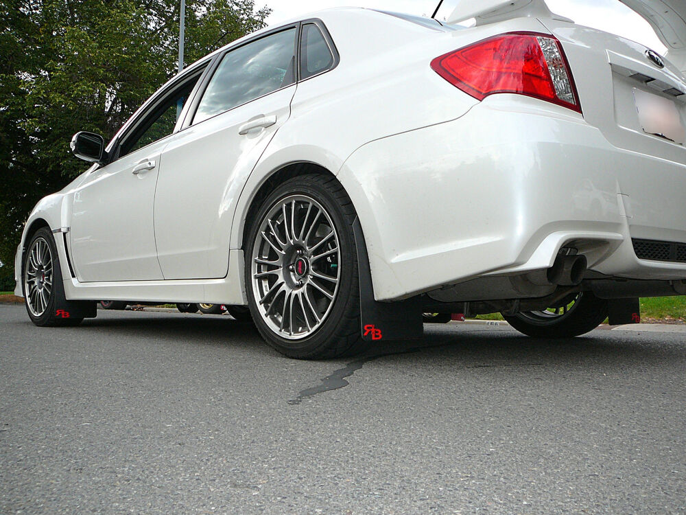 2013 Subaru Impreza Wrx Hatchback >> Subaru WRX or STI Sedan Rally Mud Flaps, 2011-2014, '11 ...